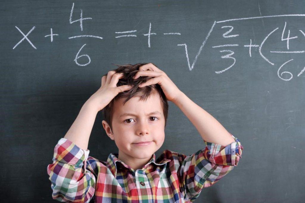 اختلال یادگیری در ریاضیات