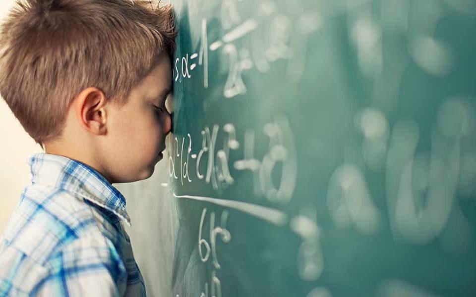 اختلال یادگیری در ریاضی